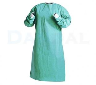 گان جراح بلند رنگ سبز