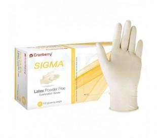 دستکش لاتکس بدون پودر Cranberry - Sigma