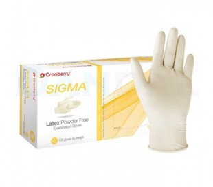 Cranberry - Sigma Latex Powder Free Gloves