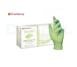 دستکش لاتکس بدون پودر Cranberry - Cherish
