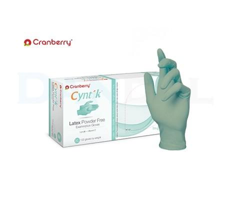 Cranberry - Cyntek Latex Powder Free Gloves