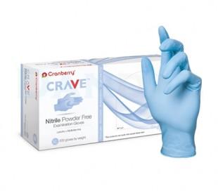 دستکش نیتریل بدون پودر Cranberry - Crave