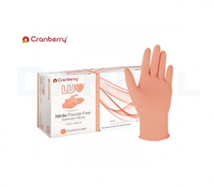 Cranberry - LUV Nitrile Powder Free Gloves