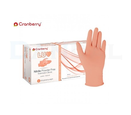 Cranberry - LUV Nitrile Powder Free Gloves