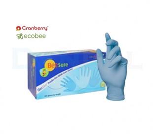 دستکش نیتریل بدون پودر EcoBee - BeeSure