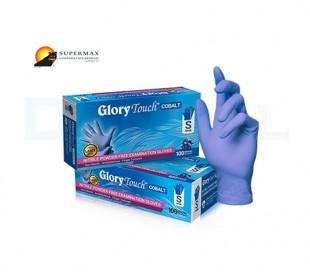دستکش نیتریل بدون پودر Supermax - Glory Touch