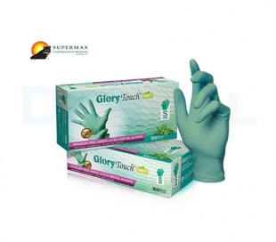 Supermax - Glory Touch Mint PF Examination Gloves