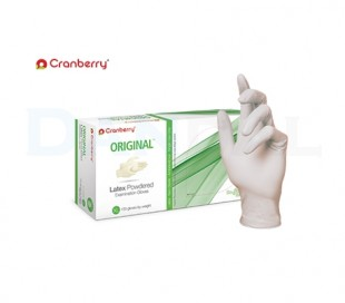 Cranberry - Original Latex Low Powder Gloves