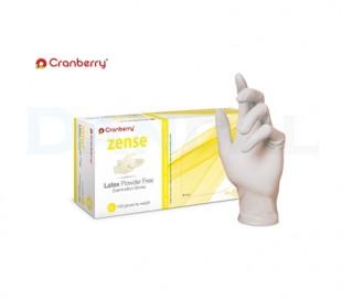 Cranberry - Zense Latex Powder Free Gloves