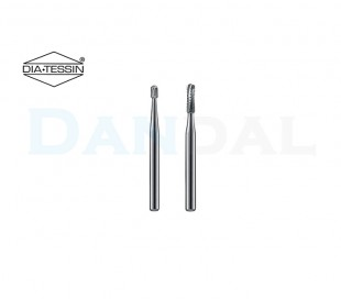 DiaTessin - Carbide Burs - Round End Cylinders - FG