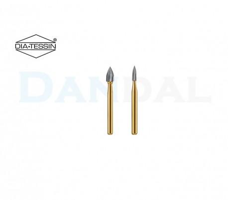 فرز کارباید شعله شمعی سر تیز 12 و 30 پره - DiaTessin