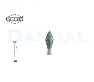 فرز الماسی مدل بشکه ای نوک تیز توربین - DiaTessin