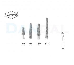 فرز الماسی مدل مخروطی ته صاف توربین - DiaTessin
