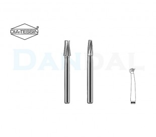 DiaTessin - Carbide Burs - Flat End Taper - FG