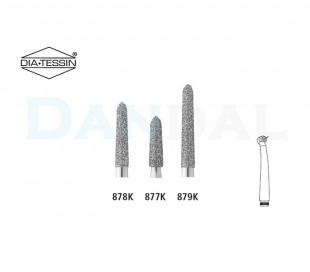 DiaTessin - Diamond Burs - Torpedo Cylindrical