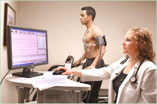 Electrocardiogram Stress Test
